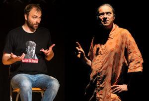 Franck Lepage et Anthony Poliquen en plein débat sur la culture