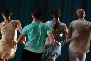 4 danseurs de la Cie Kelemenis